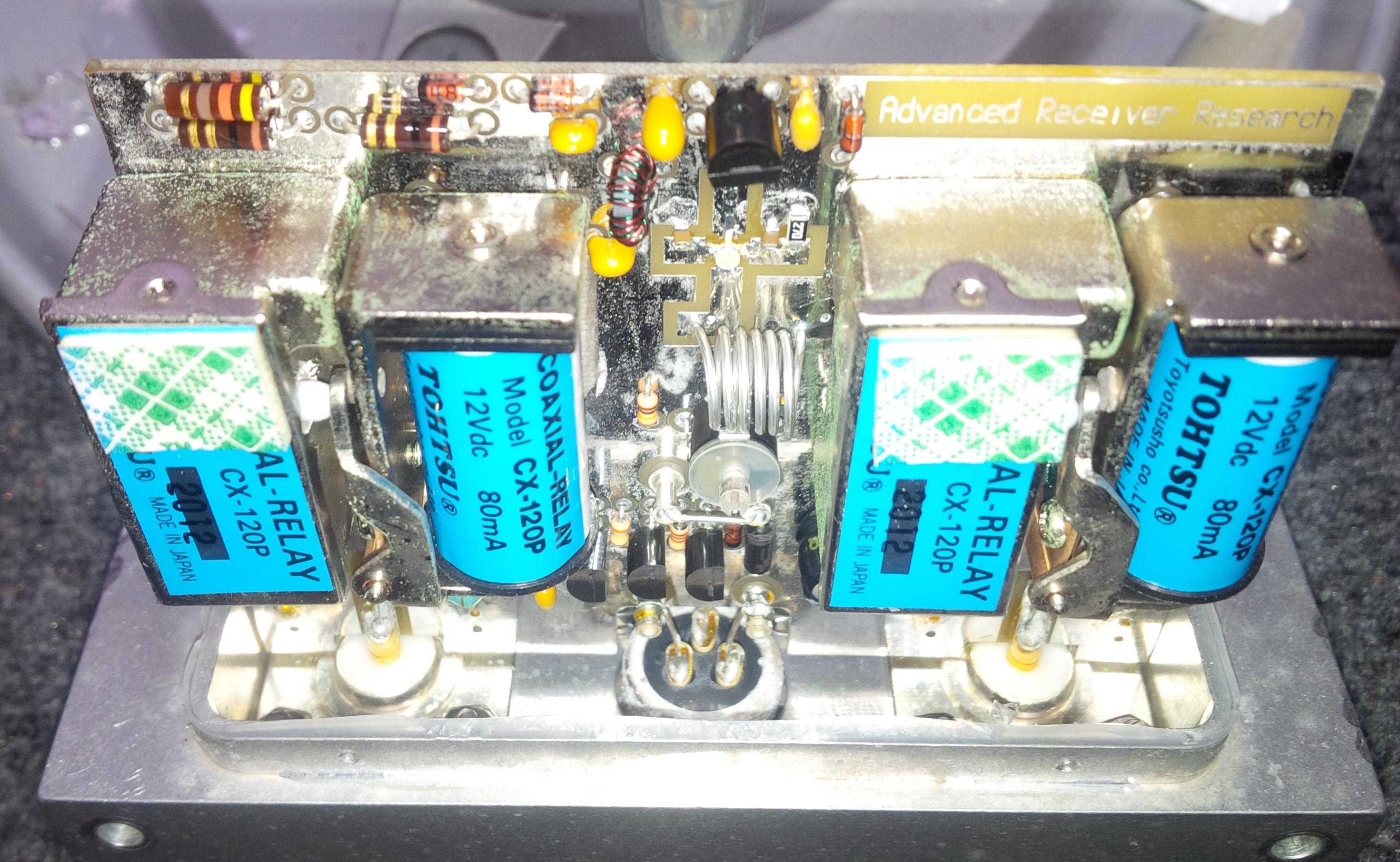 Sharp Shaftesbury High Altitude Robotics Project Uhf Preamplifier Both 2 Metre Preamps Were Similarly Affected Two 70 Cm Are Still On The Towers All Four Purchased In Late 2013 And They Just Off
